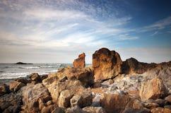 Costa del océano Fotografía de archivo libre de regalías