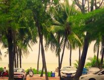 Costa del océano, Hainan fotos de archivo