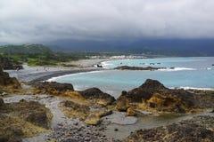 Costa del país de las maravillas Foto de archivo libre de regalías
