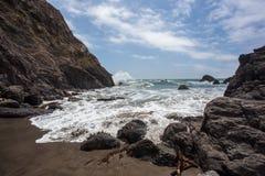Costa del Pacífico Imagenes de archivo