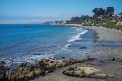 Costa del Pacífico de Chile imagen de archivo