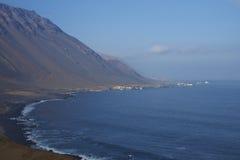 Costa del Pacífico de Chile imagenes de archivo