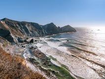 Costa del Pacífico en Big Sur, California fotos de archivo libres de regalías
