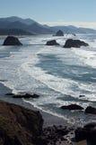 Costa del Pacifico Fotografia Stock Libera da Diritti