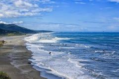 Costa del Pacifico dell'Oregon immagine stock libera da diritti
