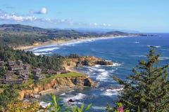 Costa del Pacifico, Oregon fotografia stock