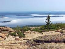 Costa del parque nacional del Acadia fotografía de archivo libre de regalías