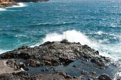 Costa del Silencio, Ténérife, Espagne Images stock
