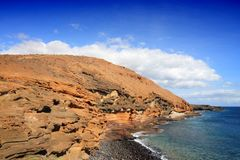 Costa Del Silencio, Tenerife Stock Images