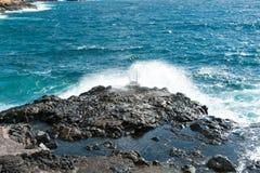 Costa del Silencio, Tenerife, Spagna Fotografia Stock Libera da Diritti