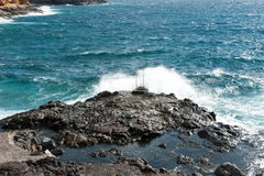 Costa del Silencio Tenerife, Spanien arkivbilder