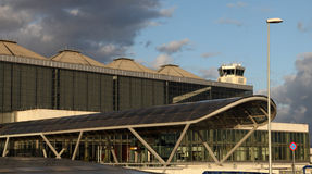 Costa del Sol airport in Malaga Stock Photography
