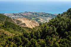 Costa Del Sol, Andalucia, Spain Royalty Free Stock Photos