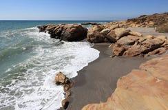 Costa del Sol Beach, Spain Royalty Free Stock Photo