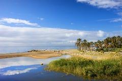 Costa del Sol in Spanje Royalty-vrije Stock Foto's