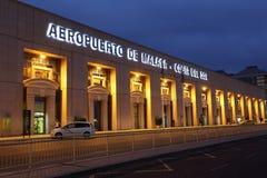 Costa del Solenoid flygplats i Malaga, Spanien Royaltyfri Bild