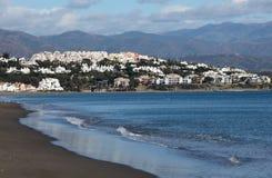 Costa del Solenoid, Spanien arkivbilder