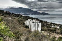 Costa del sud della Crimea in primavera Fotografie Stock