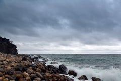 Costa del sud della Crimea in primavera Immagine Stock