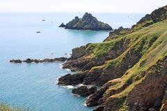 Costa del sur de Devon Foto de archivo