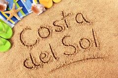 costa Del Zol Obrazy Stock