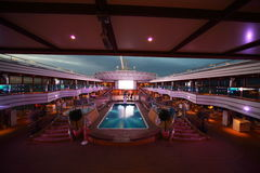 Costa Deliziosa - the newest cruise ship Royalty Free Stock Photography