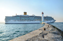 Costa Deliziosa ship Stock Photography