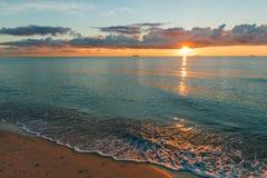 Costa dell'America Fotografia Stock