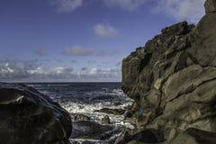 Costa dell'Islanda del sud Fotografia Stock Libera da Diritti