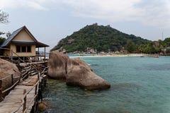 Costa dell'isola di Tao, Tailandia Immagine Stock Libera da Diritti