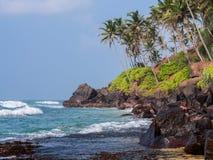 Costa dell'oceano Fotografia Stock