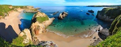 Costa dell'Oceano Atlantico, Spagna Immagini Stock