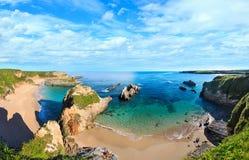 Costa dell'Oceano Atlantico, Spagna Immagine Stock Libera da Diritti