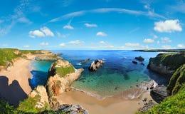Costa dell'Oceano Atlantico, Spagna Fotografie Stock Libere da Diritti