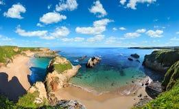Costa dell'Oceano Atlantico, Spagna Fotografia Stock