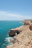 Costa dell'oceano di Kalbarri di vista aerea Immagini Stock