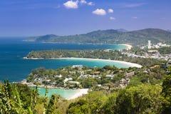 Costa dell'oceano di Phuket thailand fotografia stock libera da diritti