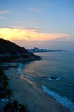 Costa dell'oceano in Rio de Janeiro Fotografia Stock Libera da Diritti