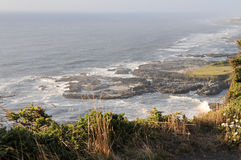 Costa dell'Oregon Fotografia Stock Libera da Diritti