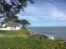 Costa della centrale di Santa Cruz California Fotografie Stock Libere da Diritti