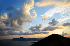 Costa della Crimea orientale Fotografia Stock