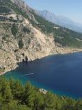 Costa della Croazia Fotografie Stock Libere da Diritti