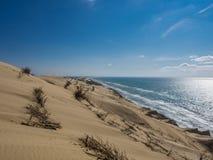 Costa della Danimarca fotografia stock libera da diritti