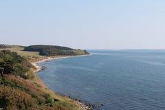Costa della Danimarca, Europa fotografia stock libera da diritti