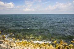 Costa della roccia Fotografie Stock