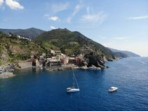 Costa della scogliera di Cinque Terre Italy immagine stock