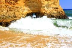 Costa di Algarve Immagine Stock
