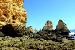 Costa di Algarve Immagini Stock Libere da Diritti