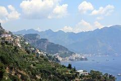 Costa di Amalfi Fotografie Stock Libere da Diritti