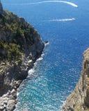 Costa di Amalfi Fotografia Stock Libera da Diritti